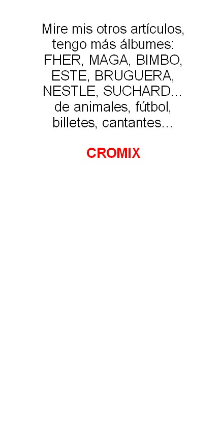 Coleccionismo Álbum: Album 1968 Vida y Color 2 Mini. Muy buen estado. Animales Razas Armas Arte Cultura Civilizaciones - Foto 15 - 48805862