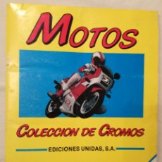 Coleccionismo Álbum: ÁLBUM COMPLETO CROMOS MOTOS 1987.. Lote 109618623