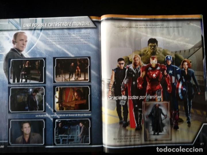 Coleccionismo Álbum: AVENGERS. VENGADORES. PANINI 2012. COLECCIÓN COMPLETA. CROMOS PEGADOS - Foto 4 - 109727627
