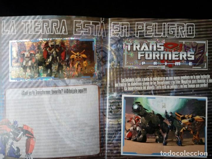 Coleccionismo Álbum: TRANSFORMERS PRIME. PANINI 2012. COLECCIÓN COMPLETA. CROMOS PEGADOS - Foto 2 - 109727851