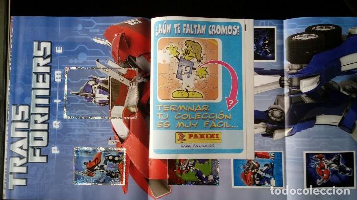 Coleccionismo Álbum: TRANSFORMERS PRIME. PANINI 2012. COLECCIÓN COMPLETA. CROMOS PEGADOS - Foto 3 - 109727851