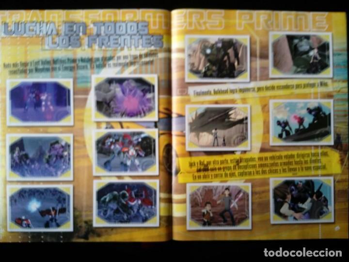 Coleccionismo Álbum: TRANSFORMERS PRIME. PANINI 2012. COLECCIÓN COMPLETA. CROMOS PEGADOS - Foto 4 - 109727851