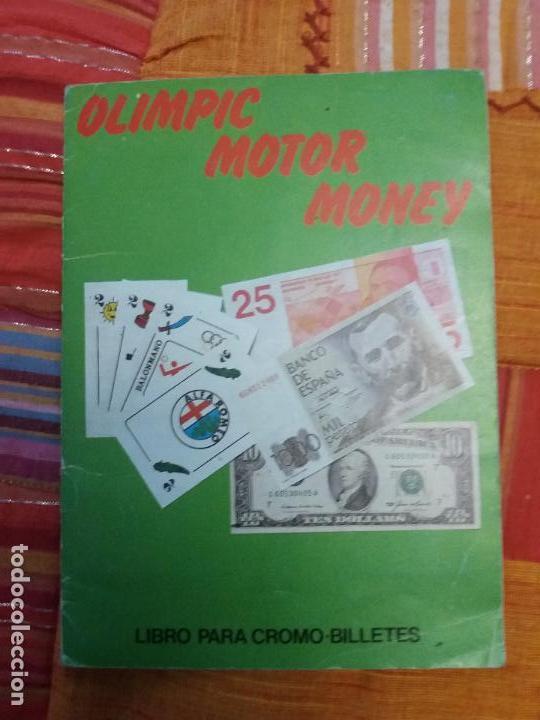 ALBUM DE CROMOS OLIMPIC MOTOR MONEY COMPLETO - TELEKITOS - (Coleccionismo - Cromos y Álbumes - Álbumes Completos)