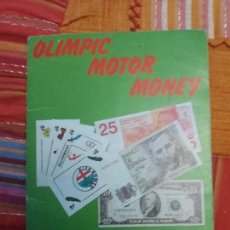 Coleccionismo Álbum: ALBUM DE CROMOS OLIMPIC MOTOR MONEY COMPLETO - TELEKITOS - . Lote 109781307