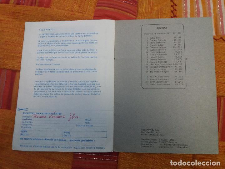 Coleccionismo Álbum: ALBUM DE CROMOS OLIMPIC MOTOR MONEY COMPLETO - TELEKITOS - - Foto 10 - 109781307