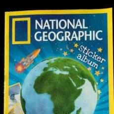 Coleccionismo Álbum: NATIONAL GEOGRAPHIC KIDS. PANINI 2012. COLECCIÓN COMPLETA. CROMOS PEGADOS. Lote 110016651