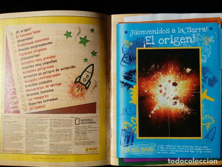 Coleccionismo Álbum: NATIONAL GEOGRAPHIC KIDS. PANINI 2012. COLECCIÓN COMPLETA. CROMOS PEGADOS - Foto 2 - 110016651