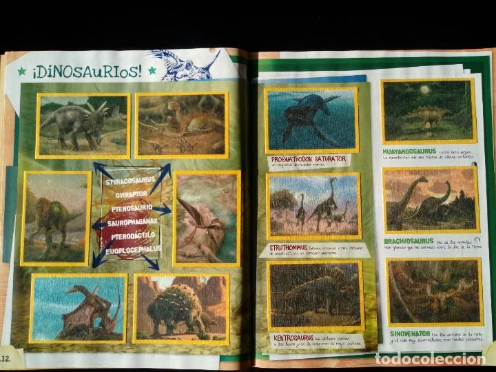 Coleccionismo Álbum: NATIONAL GEOGRAPHIC KIDS. PANINI 2012. COLECCIÓN COMPLETA. CROMOS PEGADOS - Foto 3 - 110016651