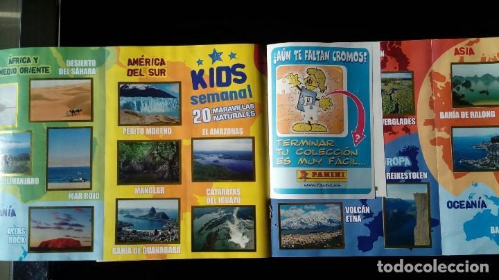 Coleccionismo Álbum: NATIONAL GEOGRAPHIC KIDS. PANINI 2012. COLECCIÓN COMPLETA. CROMOS PEGADOS - Foto 4 - 110016651