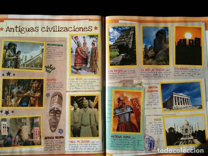 Coleccionismo Álbum: NATIONAL GEOGRAPHIC KIDS. PANINI 2012. COLECCIÓN COMPLETA. CROMOS PEGADOS - Foto 5 - 110016651