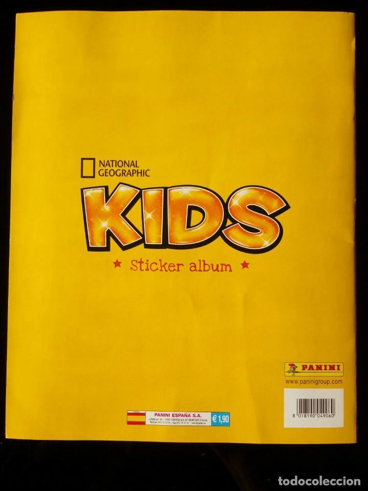 Coleccionismo Álbum: NATIONAL GEOGRAPHIC KIDS. PANINI 2012. COLECCIÓN COMPLETA. CROMOS PEGADOS - Foto 6 - 110016651