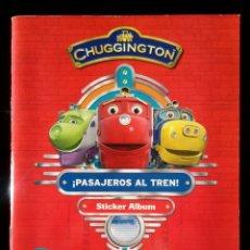 Coleccionismo Álbum: CHUGGINGTON. PASAJEROS AL TREN. PANINI 2012. COLECCIÓN COMPLETA. CROMOS PEGADOS. Lote 110016735