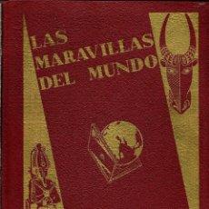 Coleccionismo Álbum: CROMOS ''LAS MARAVILLAS DEL MUNDO''-NESTLË-(1932) - COLECCION COMPLETA (480 CROMOS). Lote 110054163