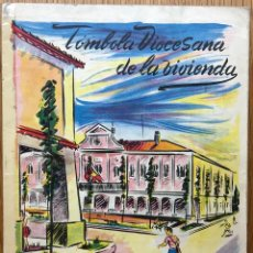 Coleccionismo Álbum: ÁLBUM TÓMBOLA DIOCESANA DE LA VIVIENDA - VALLADOLID - AÑO 1956 - COMPLETO. Lote 110121099