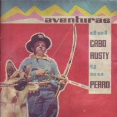 Coleccionismo Álbum: FHER - AVENTURAS DEL CABO RUSTY Y SU PERRO - ALBUM COMPLETO. Lote 110218303