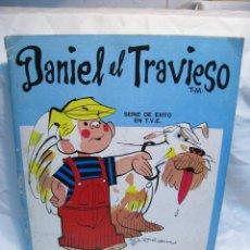 Coleccionismo Álbum: DANIEL EL TRAVIESO. PANINI. ALBUM CROMOS COMPLETO. Lote 110459191