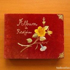 Coleccionismo Álbum: ÁLBUM DE FOTOTIPIAS -CONTIENE LAS 25 PRIMERAS SERIES - PRINCIPIOS DEL SIGLO XX, VER FOTOS INTERIORES. Lote 110517287