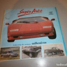 Coleccionismo Álbum: ALBUM COMPLETO SUPER AUTO AÑO 1990. Lote 110650067