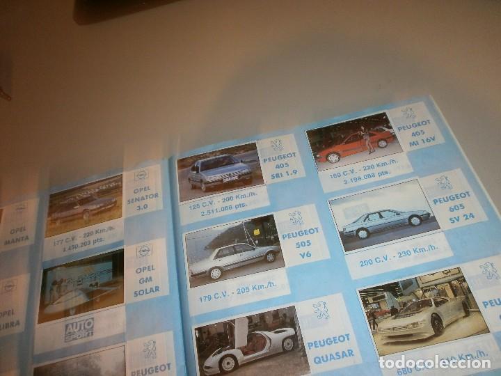 Coleccionismo Álbum: album completo super auto año 1990 - Foto 3 - 110650067