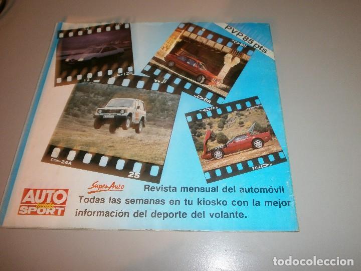 Coleccionismo Álbum: album completo super auto año 1990 - Foto 4 - 110650067