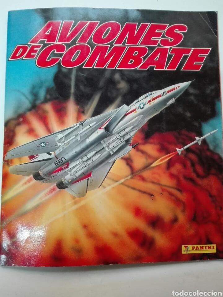 AVIONES DE COMBATE COMPLETO (Coleccionismo - Cromos y Álbumes - Álbumes Completos)