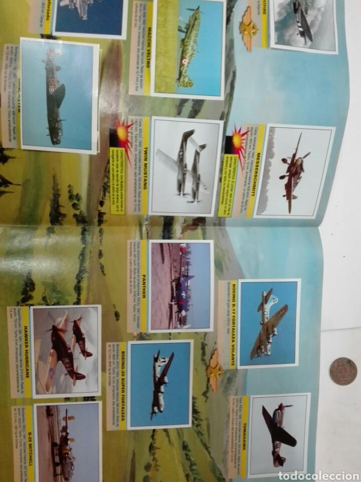 Coleccionismo Álbum: Aviones de combate completo - Foto 3 - 110947859
