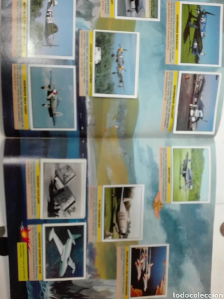 Coleccionismo Álbum: Aviones de combate completo - Foto 4 - 110947859