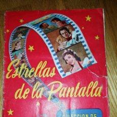 Coleccionismo Álbum: EL ROJO ESTRELLAS DE LA PANTALLA COMPLETO 102 CROMOS. RUIZ ROMERO 1954. SEGUNDA SERIE. RARO!!. Lote 111093395