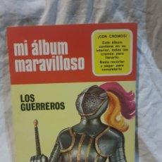 Coleccionismo Álbum: MI ÁLBUM MARAVILLOSO LOS GUERREROS NÚMERO 2 COMPLETO SIN ESTRENAR. Lote 111169470