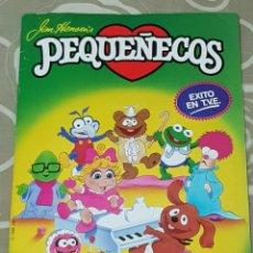 Coleccionismo Álbum: ESTE 1986 PEQUEÑECOS ÁLBUM COMPLETO EN BUEN ESTADO.. Lote 111927063