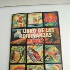 Coleccionismo Álbum: EL LIBRO DE LAS ADIVINANZAS - BIMBO 1973 - ALBUM COMPLETO - COLECCION COMPLETA. Lote 112038375