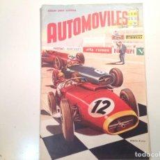 Coleccionismo Álbum: AUTOMÓVILES. Lote 112160763