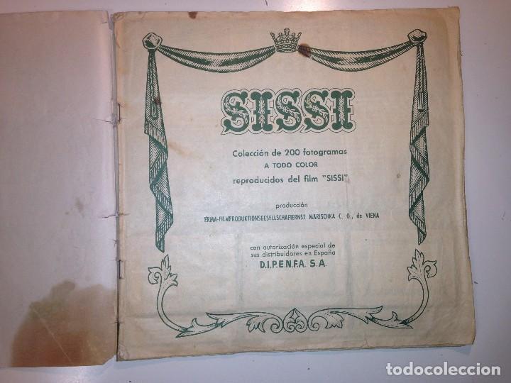 Coleccionismo Álbum: Sissi emperatriz - Foto 3 - 112161479