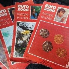 Sammeln Sammelalbum - EURO 2000 EUROPA EN COLOR LOTE DE 4 ALBUMES COMPLETOS - 112456351
