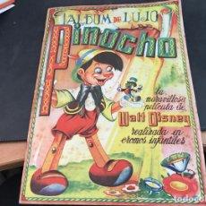 Coleccionismo Álbum: ALBUM DE LUJO DE PINOCHO. COMPLETO 240 CROMOS (FHER) (H-2). Lote 112470799