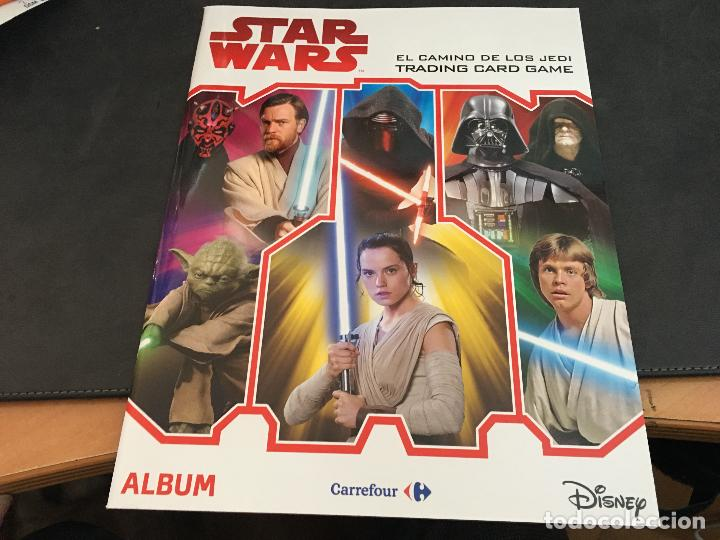 Topps Star Wars Movie sticker 5 x vacía álbum álbum este álbum nuevo