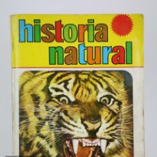 Coleccionismo Álbum: ÁLBUM DE CROMOS COMPLETO - HISTORIA NATURAL - 508 CROMOS - ED. BRUGUERA, 1967. Lote 112504943