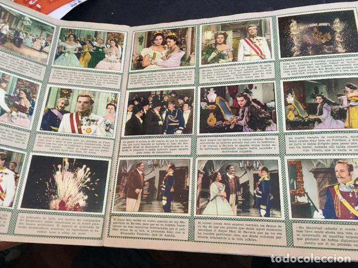 Coleccionismo Álbum: SISSI ALBUM COMPLETO 200 CROMOS BRUGUERA (H-2) - Foto 5 - 112547459