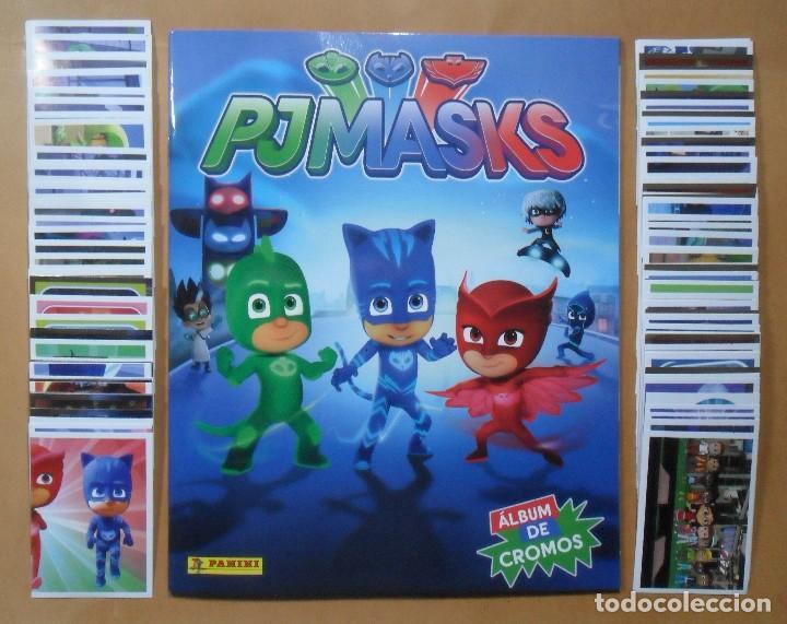 Pj Masks Album 180 Cromos Sin Pegar Compl Sold Through