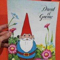 Coleccionismo Álbum: ALBUM DE CROMOS COMPLETO DAVID EL GNOMO DANONE . Lote 112821031