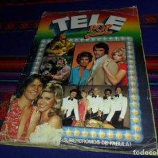 Coleccionismo Álbum: TELE POP COMPLETO 240 CROMOS. EDICIONES ESTE 1980. . Lote 112869135
