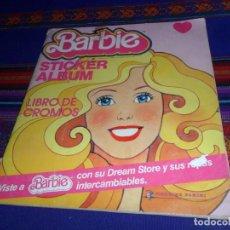 Coleccionismo Álbum: BARBIE STICKER ÁLBUM LIBRO DE CROMOS COMPLETO. PANINI 1983. . Lote 112874991