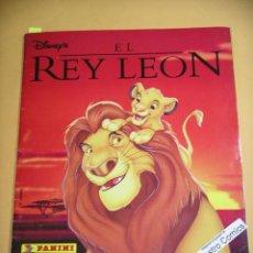 Coleccionismo Álbum: ÁLBUM DE CROMOS EL REY LEÓN, DISNEY, PANINI, COMPLETO 232 CROMOS, (A) ERCOM. Lote 113022623