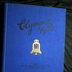 Coleccionismo Álbum: OLYMPIA 1936 - CROMOS FOTOGRAFICOS - OLIMPIADAS BERLIN - COMPLETO - BUEN ESTADO - BAND 1. Lote 113058179