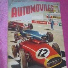 Coleccionismo Álbum: ALBUM DE CROMOS AUTOMOVILES COMPLETO 247 CROMOS FHER.. Lote 113199191