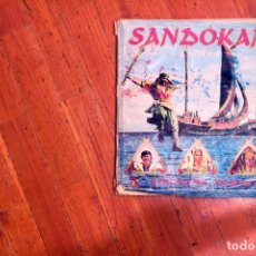Coleccionismo Álbum: ALBUM COMPLETO SANDOKAN DE PANINI. 400 CROMOS COMPLETO.. Lote 113420943