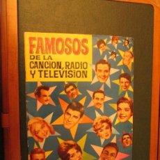 Coleccionismo Álbum: FAMOSOS DE LA CANCION , RADIO Y TELEVISION. Lote 113460211