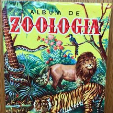 Coleccionismo Álbum: ÁLBUM DE ZOOLOGÍA - BRUGUERA - AÑO 1952 - COMPLETO. Lote 113519847