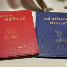 Coleccionismo Álbum: ALBUM NESTLE TOMO I COMPLETO Y MI ALBUM NESTLE LEER. Lote 113634114