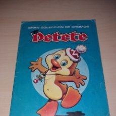 Coleccionismo Álbum: GRAN COLECCIÓN DE CROMOS PETETE. Lote 113833262